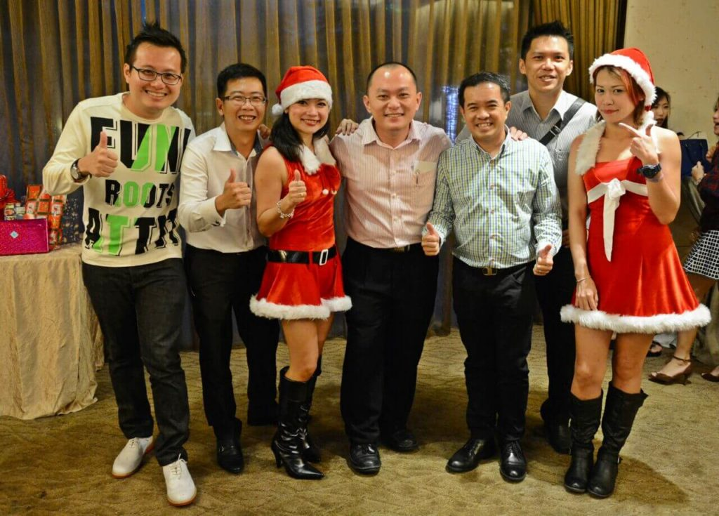 Christmas with Yong Hock