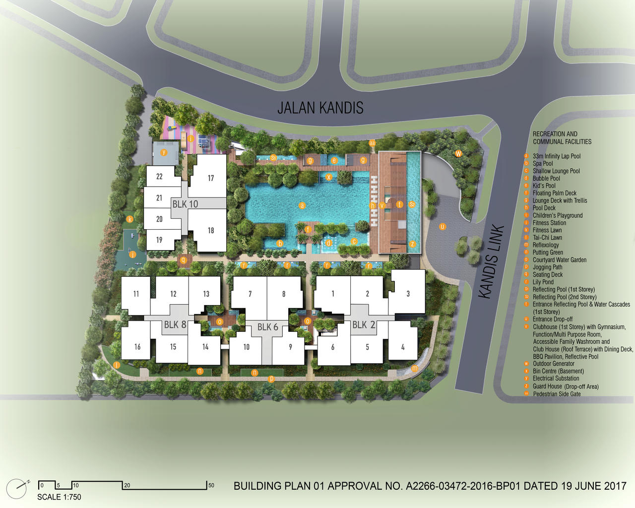 PropNex Local Projects - Kandis Residence Site Map (Dynamic Force Group)