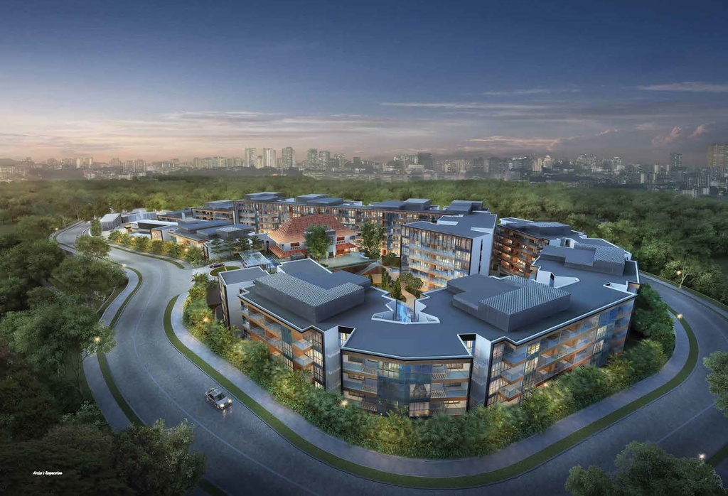PropNex Local Projects - Sophia Hills Night View (Dynamic Force Group)