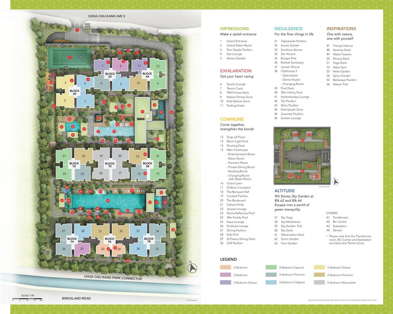 PropNex Local Projects - iNz Residence Site Map (dynamicforce.sg)