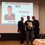 Dynamic Force Group - 3rd Top Producers 2017 - Rodney Tan