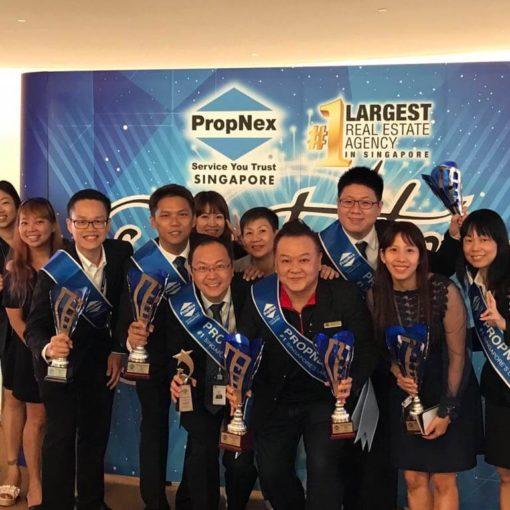 Dynamic Force Group - Group Photo - PropNex Annual Convention 2018
