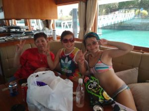 Dynamic Force Group Celebratory Yacht Outing - Cindyh, Eileen and Jasmine