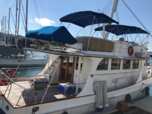 Dynamic Force Group Celebratory Yacht Outing - Yacht view