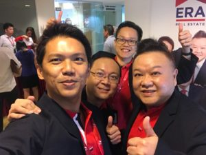 4 Founders of Dynamic Force Group (DFG) at Collection of ERA ID Tag