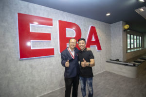 ERA Kevin with Neo Chee Seng - Dynamic Force Group