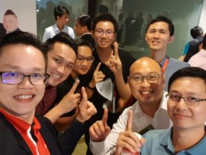Edmund and team - Dynamic Force Group (DFG) at Collection of ERA ID Tag