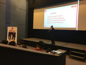 Speech by Neo Chee Seng - Dynamic Force Group (DFG) At ERA Blue Auditorium 02