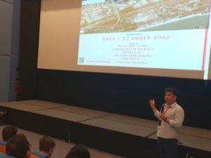 Speech by Nicholas - Dynamic Force Group (DFG) At ERA Blue Auditorium 03