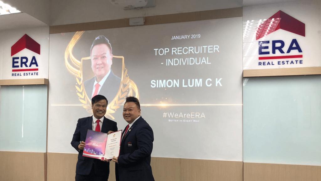 Simon Lum Top Recruiter 2