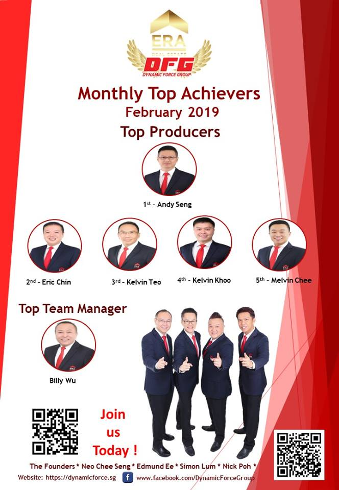 2019 Feb Top Achiever For Dynamic Force Group (DFG)