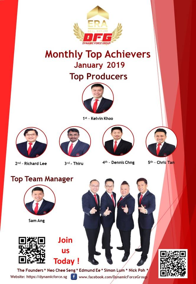 2019 Jan Top Achiever For Dynamic Force Group (DFG)