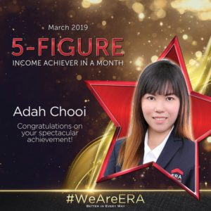 ERA Division Meeting April - Dynamic Force Group (DFG) - Adah Chooi 5 Figure Achiever