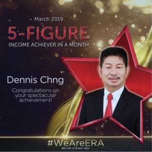 ERA Division Meeting April - Dynamic Force Group (DFG) - Dennis Chng 5 Figure Achiever