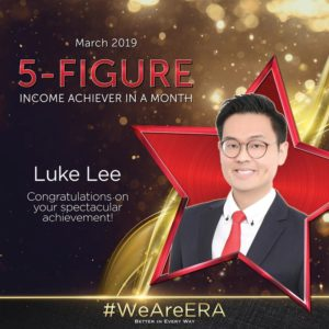 ERA Division Meeting April - Dynamic Force Group (DFG) - Luke Lee 5 Figure Achiever