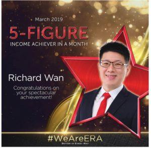 ERA Division Meeting April - Dynamic Force Group (DFG) - Richard Wan 5 Figure Achiever