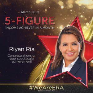ERA Division Meeting April - Dynamic Force Group (DFG) - Riyan Ria 5 Figure Achiever