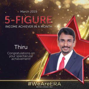 ERA Division Meeting April - Dynamic Force Group (DFG) - Thiru 5 Figure Achiever