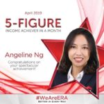 Dynamic Force Group - ERA DFG 2019 April Top Achiever - Angeline