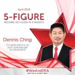Dynamic Force Group - ERA DFG 2019 April Top Achiever - Dennis