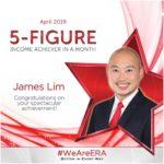 Dynamic Force Group - ERA DFG 2019 April Top Achiever - James