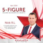 Dynamic Force Group - ERA DFG 2019 April Top Achiever - Nick