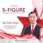 Dynamic Force Group - ERA DFG 2019 April Top Achiever - Tan Poh Sing