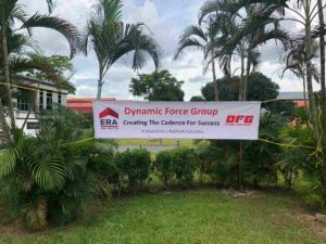 Dynamic Force Group quarterly retreat at chevrons - DFG LOGO