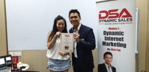 Dynamic Internet Marketing (Graduation - Cynthia Tan) - Dynamic Force Group (DFG)
