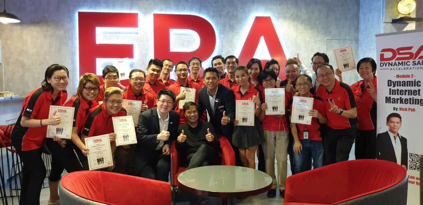 Dynamic Internet Marketing (Graduation - Group Photo) - Dynamic Force Group (DFG)