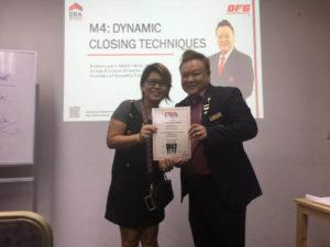 Dynamic Closing Techniques Graduation 09 (dynamicforce.sg) Dynamic Force Group (DFG)