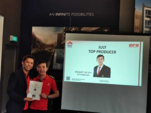 Dynamic Force Group August 2019 Division Meeting - 2nd Top Producer - stewart (www.dynamicforce.sg)