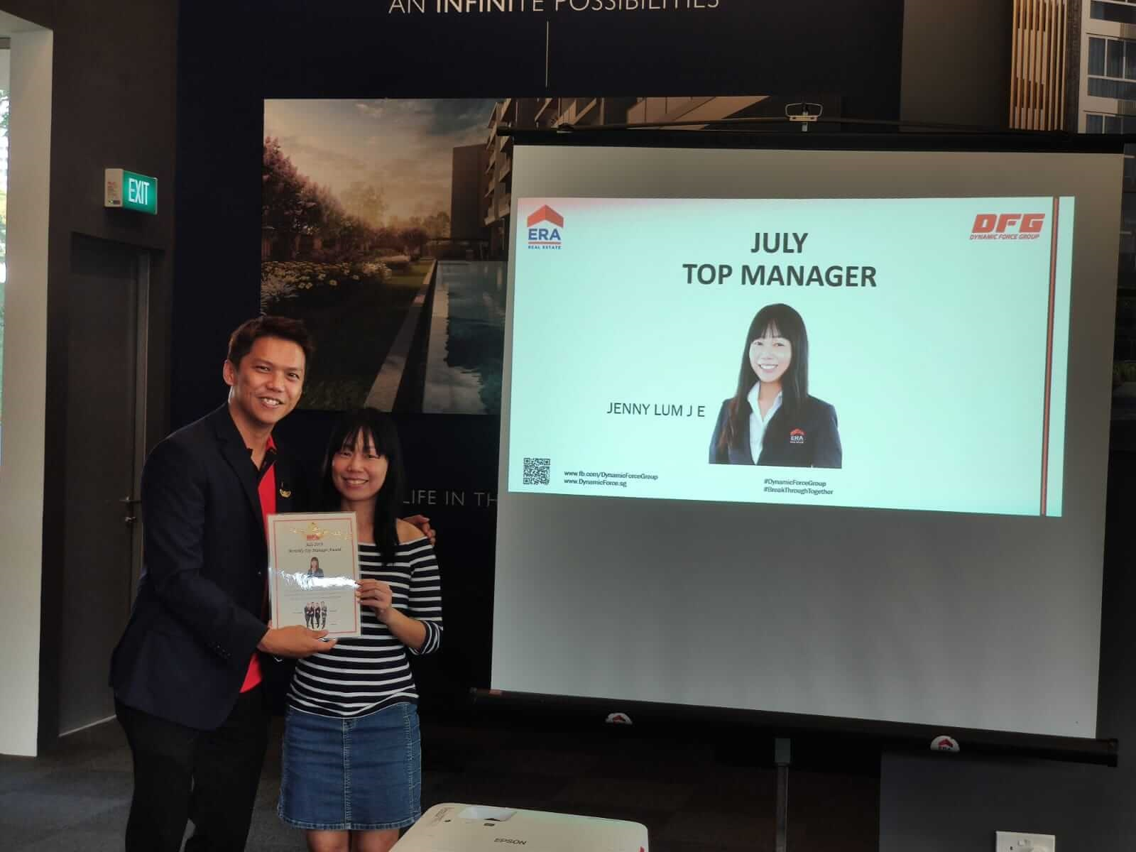 Dynamic Force Group August 2019 Division Meeting - Top Manager Jenny Lum (www.dynamicforce.sg)