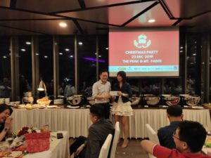 DFG Christmas and Year End Retreat - Lucky Draw winner 01 (Dynamic Force Group)