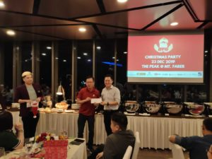 DFG Christmas and Year End Retreat - Lucky Draw winner 02 (Dynamic Force Group)
