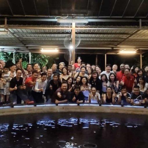 DFG Retreat At Sembawang August 2019 - Full Group Photo (Dynamic Force Group)