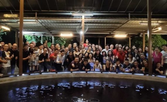 DFG Retreat At Sembawang August 2019 - Full Group Photo (Dynamic Force Group)