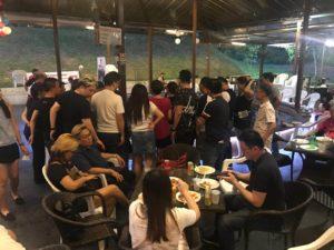 DFG Retreat At Sembawang - Prawning 02 (Dynamic Force Group)