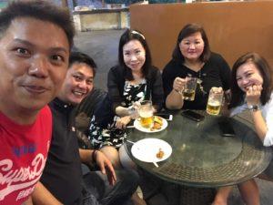 DFG Retreat At Sembawang - Small Group 04 (Dynamic Force Group)