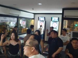 DFG Retreat At Sembawang - darts game 04 (Dynamic Force Group)