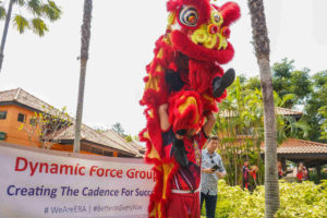 DFG CNY LOHEI 2020 - Lion Dance and DFG Banner